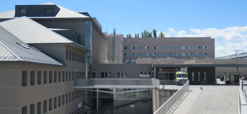 Hospital General de Segovia. | Foto: Nuria Pascual |