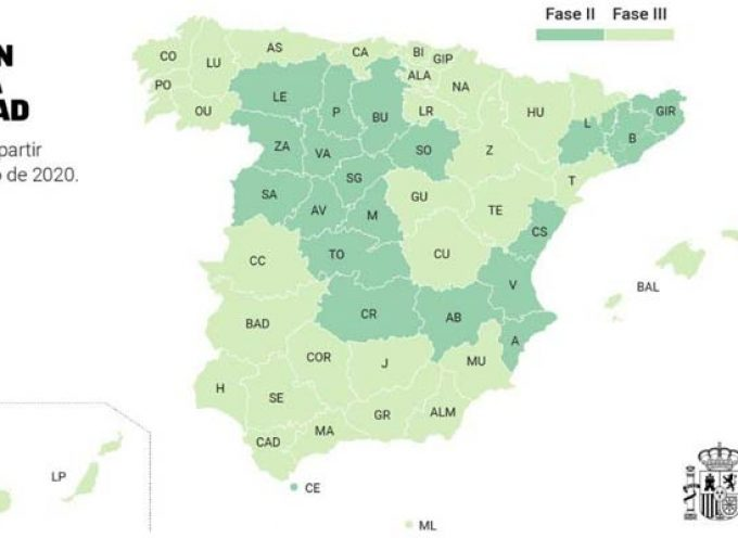 Segovia pasa desde el lunes a la fase 2 de la desescalada junto al resto de la región