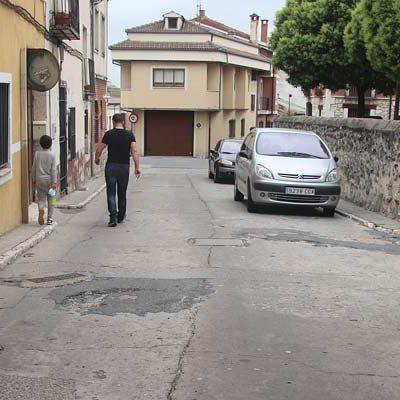 El Ayuntamiento de Cuéllar adjudica a Mariano Rico S.L la pavimentación de la travesía de la Cruz