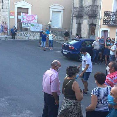 Hontalbilla mantiene las concentraciones demandando la apertura del consultorio médico