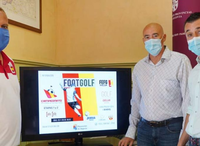 Cuéllar acogerá el 25 y 26 de julio las dos primeras etapas del Campeonato de España de FootGolf