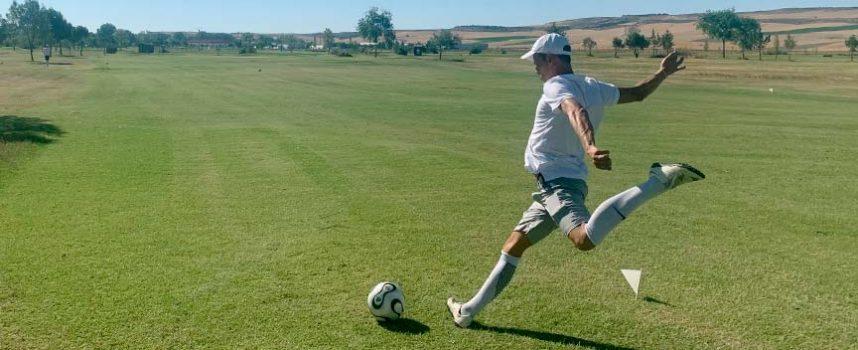 Más de 120 jugadores disputaron en Cuéllar las dos primeras etapas del Campeonato de España de FootGolf