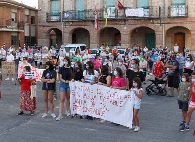 La Plataforma `Lastras Potable Ya!´ lleva a Segovia sus reivindicaciones