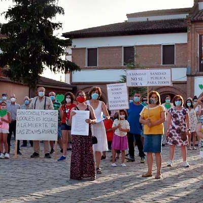 Los vecinos de Fresneda de Cuéllar reclaman una atención sanitaria de calidad