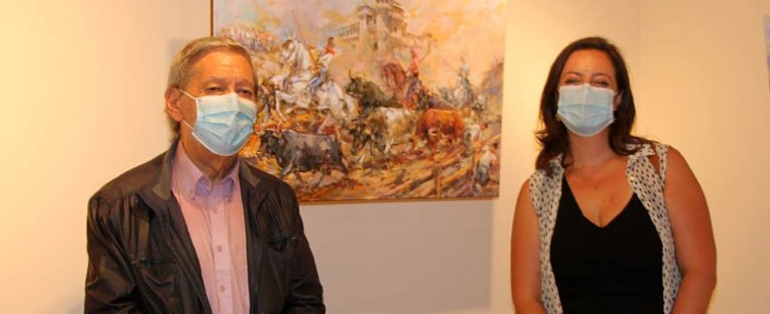 Pintura taurina, paisajes y monumentos centrán la exposición de Lope Tablada Martín en Tenerías