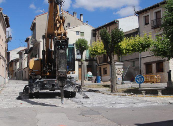 La plaza de la Cruz tendrá nueva imagen tras el verano