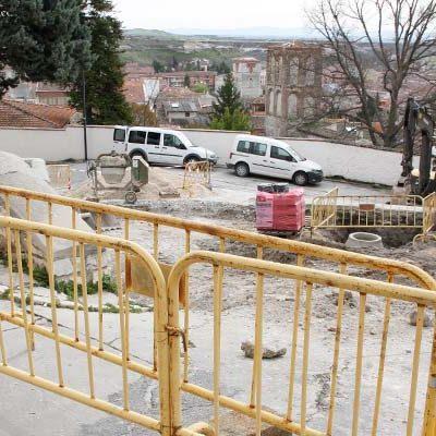 El Ayuntamiento de Cuéllar adjudica la segunda fase de reforma de la plaza del Campo por 60.354 euros
