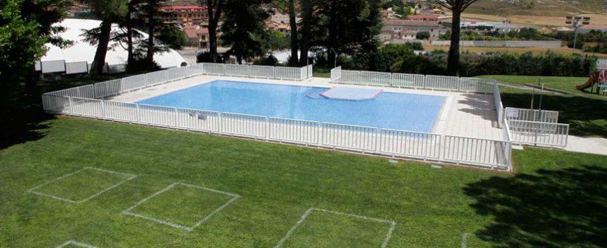 La piscina municipal de Cuéllar abrirá sus puertas mañana con estrictas medidas de seguridad