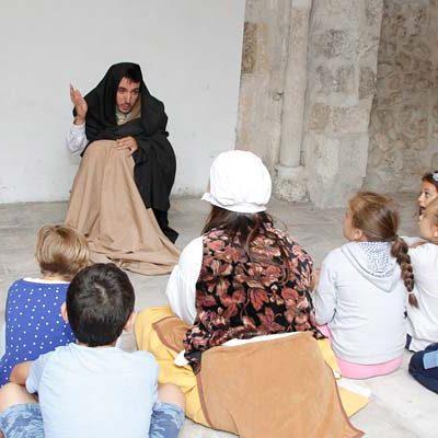 Vuelven a las calles de Cuéllar las rutas infantiles guiadas por Espronceda