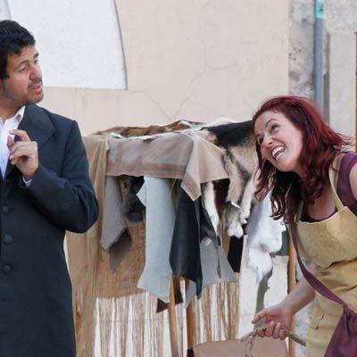 José de Espronceda y Zoraida repasan la historia de la villa en la nueva ruta teatralizada