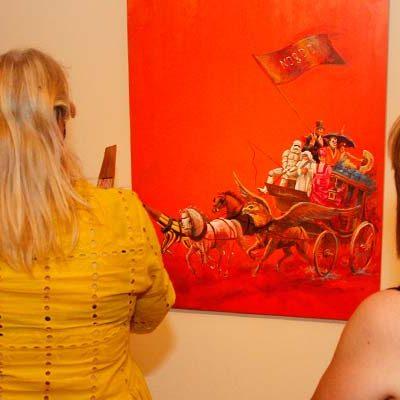 Abre sus puertas en Tenerías la exposición de las obras de la subasta benéfica
