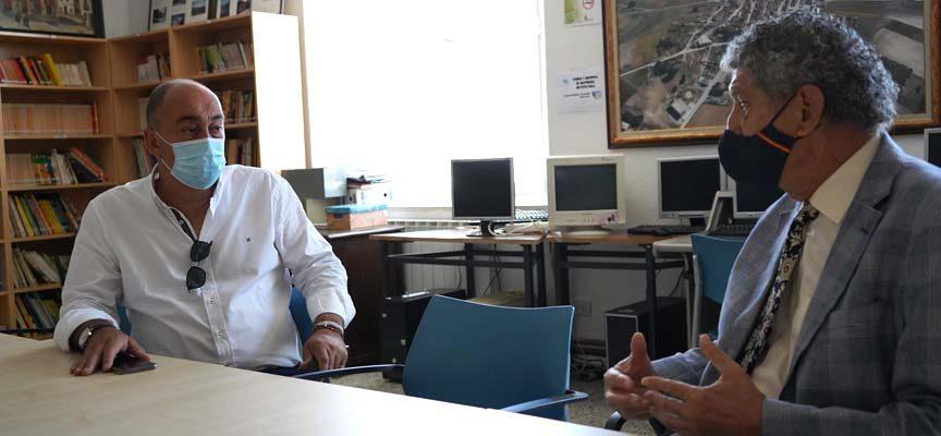 El presidente de la Diputación compromete su apoyo a Lastras de Cuéllar para solucionar el problema del agua