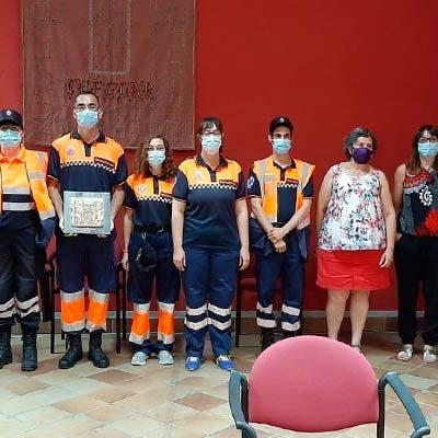 La Diputación destina 40.000 euros a asociaciones y entidades locales que prestan servicio de Protección Civil