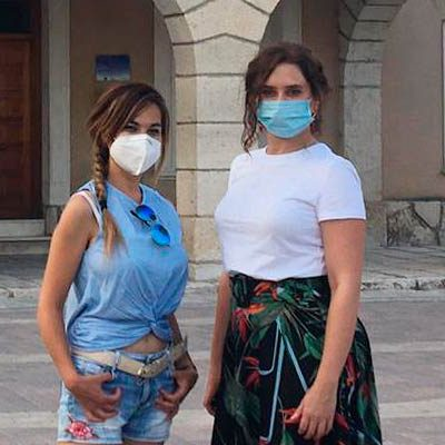 Isabel Díaz Ayuso realiza una visita privada a Hontalbilla