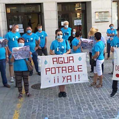 Lastras Potable Ya! reclama a Junta y Diputación partida presupuestaria para poder cerrar 2021 con agua potable