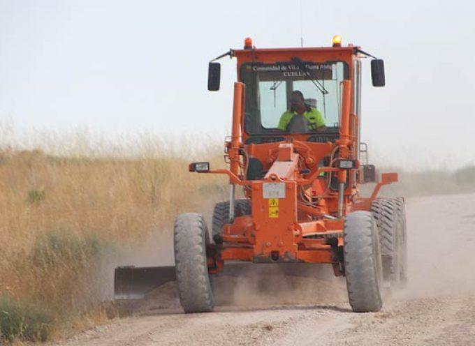 El Ayuntamiento de Cuéllar acondiciona 104 kilómetros de caminos agrícolas