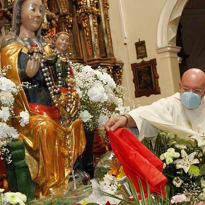Cuéllar celebra la festividad de la virgen del Rosario