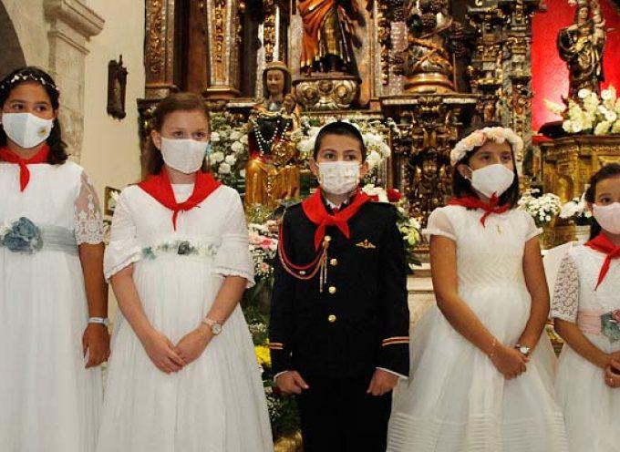 Cuarenta y dos niños tomarán la comunión en Cuéllar los días 16, 23 y 30 de mayo