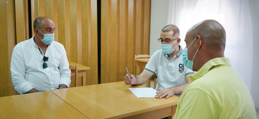 El presidente de la Diputación visitó los pueblos segovianos de la zona básica de salud de Íscar