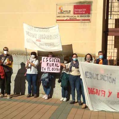 Educación niega el cuarto docente al colegio de  Gomezserracín
