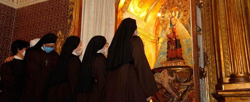 El inicio de las novenas abre el camino a la celebración de la fiesta de la virgen de El Henar