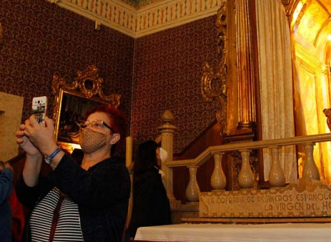 La virgen de El Henar espera a sus devotos para festejar El Henarillo