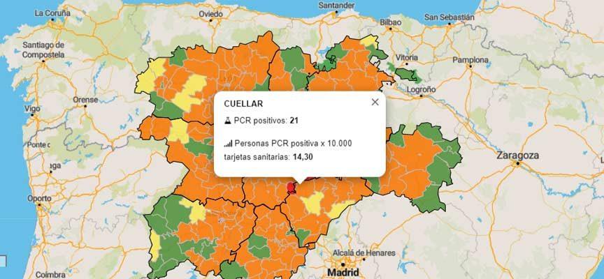 Segovia suma 39 nuevos positivos de COVID-19 y dos aulas en cuarentena del colegio de Cantalejo