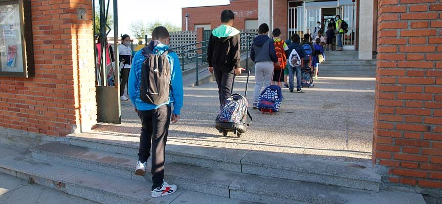Las medidas COVID marcan el inicio del curso para 750 alumnos de los tres colegios de Cuéllar