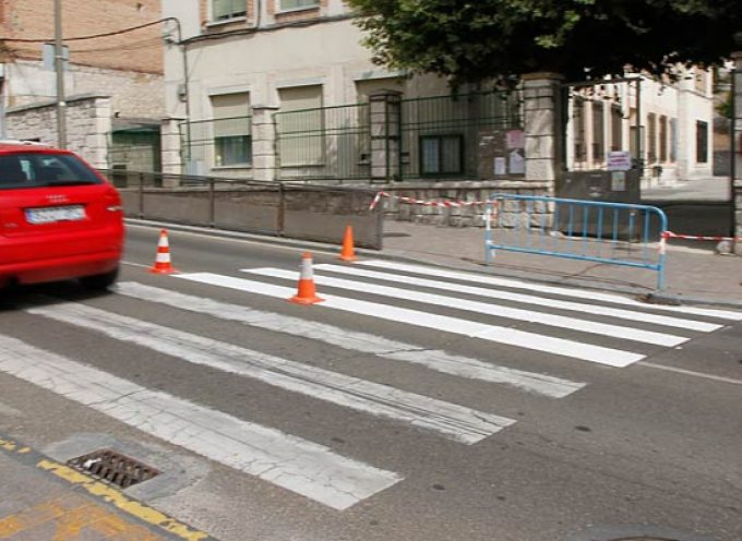 El Ayuntamiento de Cuéllar realiza actuaciones de mejora en materia de Tráfico y Medio Ambiente