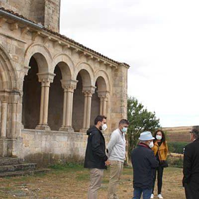La Junta concluye la restauración de la cubierta de la iglesia de san Miguel de Fuentidueña