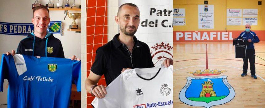 El club Racing Cuéllar se alía con el FS Pedrajas y Gesdeporte Peñafiel para mejorar sus canteras