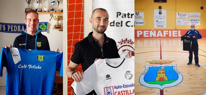 Jacobo Pastor (izquierda), Jesús Ángel Ferreiro (centro) y Sergio del Pico han sido los firmantes del convenio.