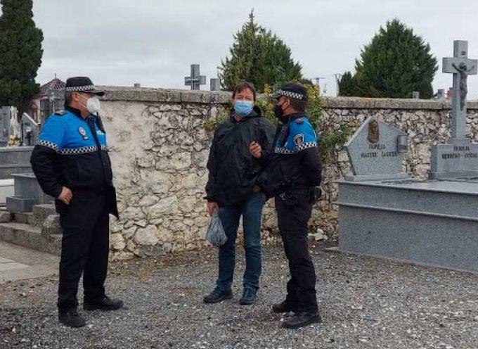 El Ayuntamiento limita a 300 personas el aforo del cementerio de cara al Día de los Santos