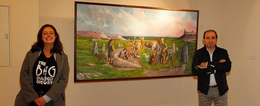 Jesús Calvo `Tomillo´ expone su `Pintura ecléctica´ en la sala de las Tenerías
