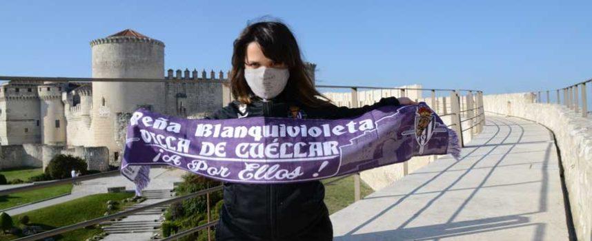 La Peña Blanquivioleta Villa de Cuéllar estrena `Latidos en blanco y violeta´