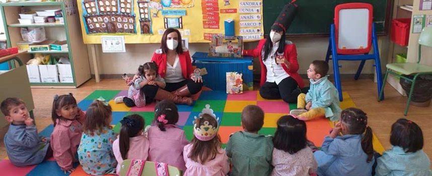 El colegio San Gil celebró el Día de las Bibliotecas con los cuentos de Hans Christian Andersen