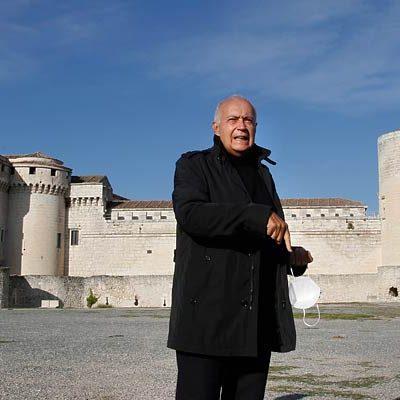 José Luis Moreno y Jane Seymour cierran hoy la grabación de secuencias en Cuéllar