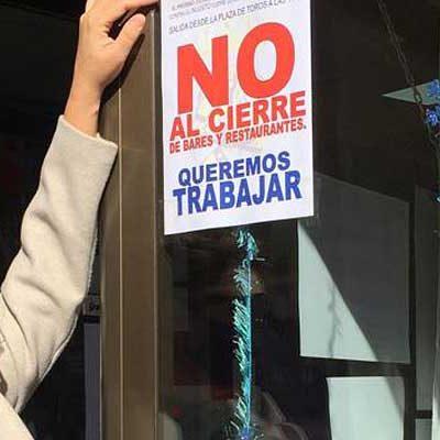 Los hosteleros dirán no al cierre de sus establecimientos el jueves en una manifestación en la villa