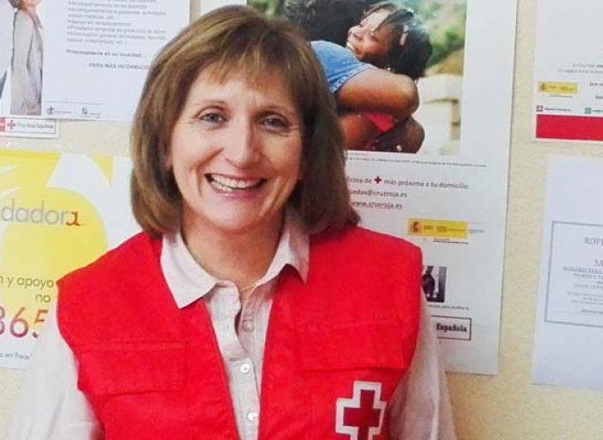 Olga López es la nueva presidenta comarcal de Cruz Roja en Cuéllar
