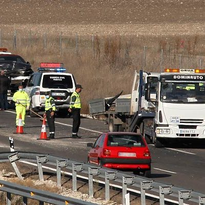 Investigado el conductor que presuntamente huyó tras provocar un accidente en la A-601 y dio positivo en alcohol y drogas
