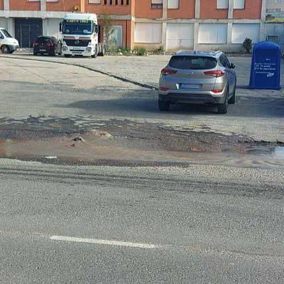 Una avería en la red de agua obliga al corte de suministro en los polígonos Malriega, Contodo y Prado Vega