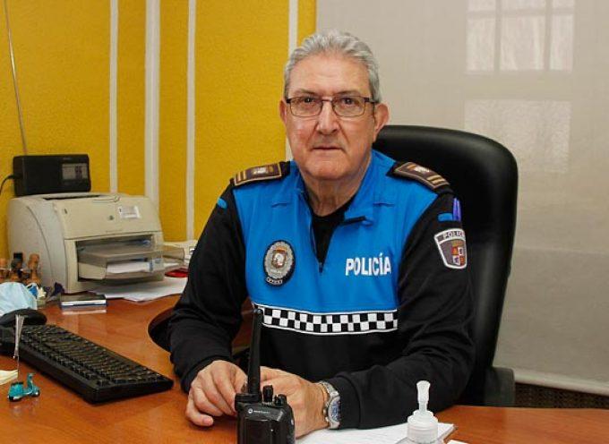 Javier Moreno se despide tras tres décadas al frente de la Policía Local de Cuéllar
