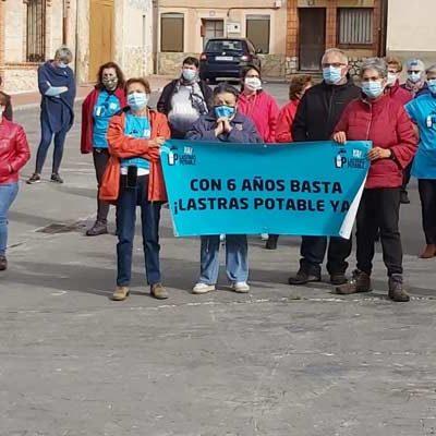 La plataforma Lastras Potable Ya! vigilará el cumplimiento del protocolo para el abastecimiento de agua desde el manantial de Las Fuentes