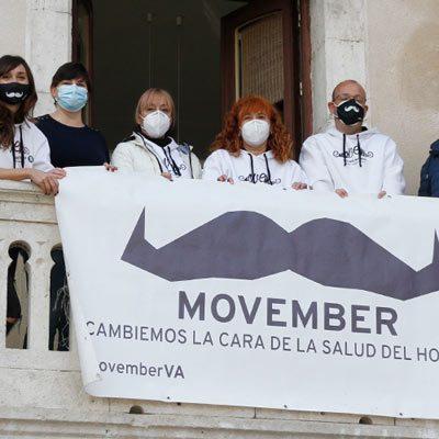 El Ayuntamiento de Cuéllar se suma al movimiento Movember
