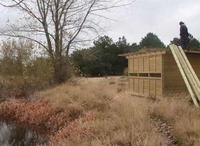 El humedal de El Espadañal ya cuenta con un observatorio de aves