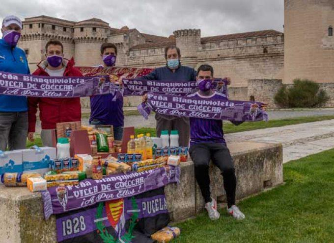 La Peña Blanquivioleta Villa de Cuéllar organiza una recogida para el Banco de Alimentos