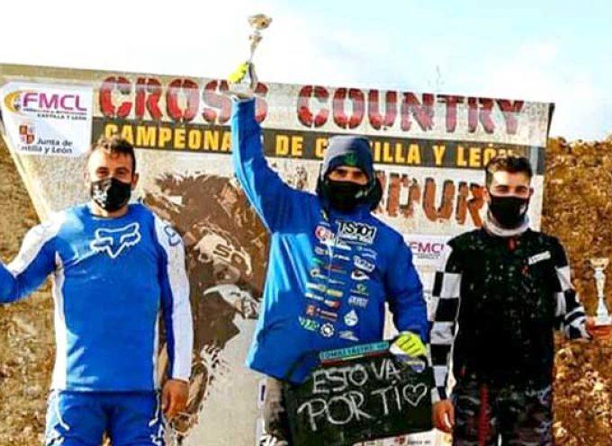 El piloto de Campo de Cuéllar Tomás Sastre se proclama campeón regional de QuadCross