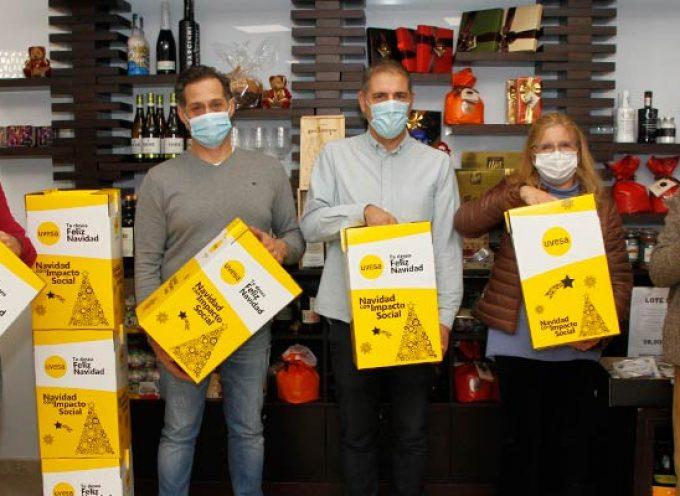 Los productores del CIT de Cuéllar elaboran 500 lotes de productos para el Grupo Uvesa