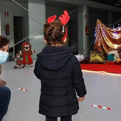 Las medidas de seguridad marcan la visita de Papá Noel a Cuéllar