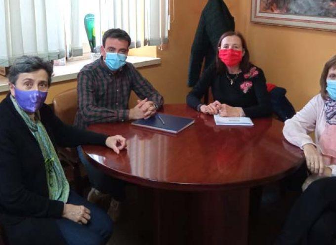 El Ayuntamiento de Cuéllar y Cruz Roja ponen de manifiesto su disposición a colaborar